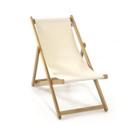 Skládací plážová židle Joy Armless Natural
