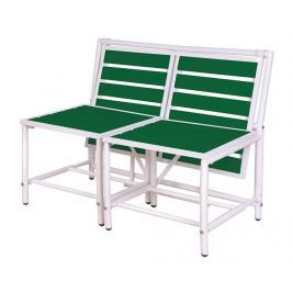 Venkovní konvertibilní lavice Green Magical