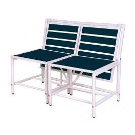 Venkovní konvertibilní lavice Blue Magical