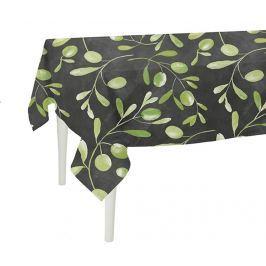 Ubrus Dark Olive Garden 140x180 cm