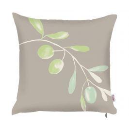 Povlak na polštář Olive Branch Grey 43x43 cm