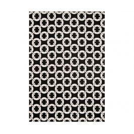 Koberec Arlo Buckle Black 100x150 cm