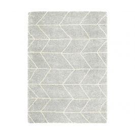 Koberec Logan Blocks Silver Ivory 120x170 cm