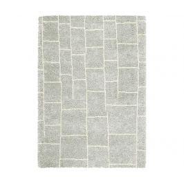 Koberec Logan Bricks Silver Ivory 120x170 cm