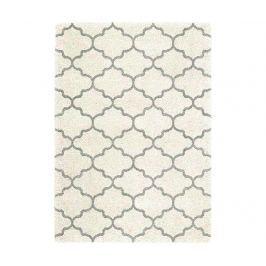 Koberec Logan Ogee Ivory Grey 120x170 cm