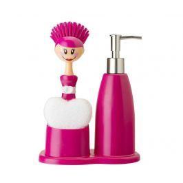 Sada 3 kuchyňských dílů Doll Pink