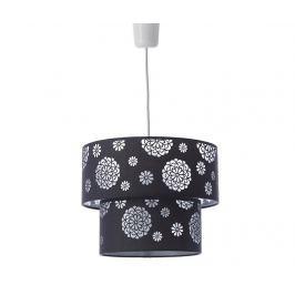 Závěsná lampa Hydrangea Dark Grey