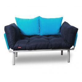 Rozkládací pohovka Relax Navy Turquoise