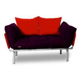 Rozkládací pohovka Relax Plum Red