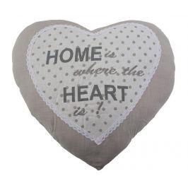 Dekorační polštář Love Home 40x40 cm