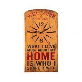 Nástěnné hodiny Home