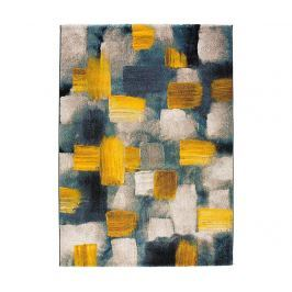 Koberec Squares Yellow 120x170 cm