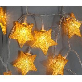 Světelná girlanda Star Gold
