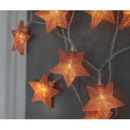 Světelná girlanda Star Copper