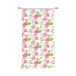 Závěs Flowery Pink 140x270 cm