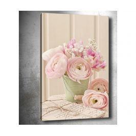 Obraz 3D Pink Roses 40x60 cm