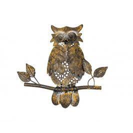 Nástěnná dekorace Owl Leaf