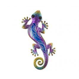 Nástěnná dekorace Half on Lizard Purple