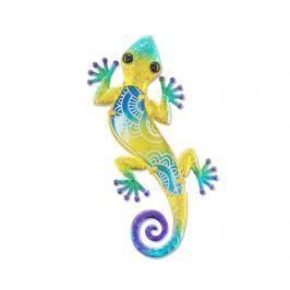 Nástěnná dekorace Half on Lizard Yellow