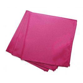 Sada 3 ubrousků Essentiel Pink 40x40 cm
