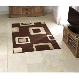 Koberec Diamond Brown 67x225 cm