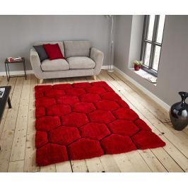 Koberec Noblese House Red Black 150x230 cm