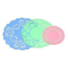 Sada 30 dekoračních ubrousků Pale Colours