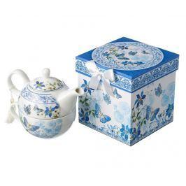 Sada čajník a šálek Blue Blossom