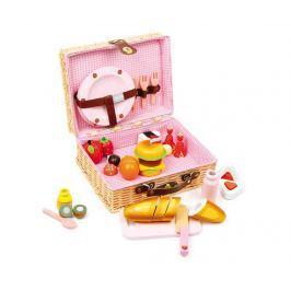 Sada piknikový koš s příslušenstvím na hraní Teatime