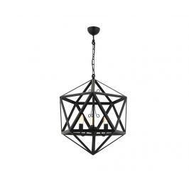 Závěsná lampa Petra Black Three