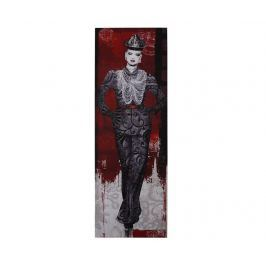 Obraz Red & Black Model 50x150 cm