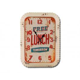 Nástěnné hodiny Free Lunch Tomorrow