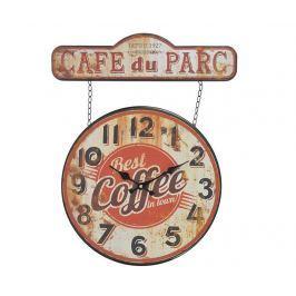 Nástěnné hodiny Cafe du Parc