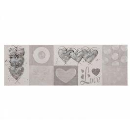 Obraz Hearts 50x150 cm