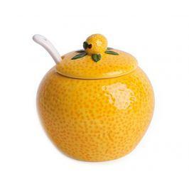 Cukřenka s víkem a lžičkou Lemon