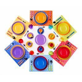 Jídelní souprava, 66 dílů Multicolor