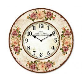 Nástěnné hodiny Flores Roses
