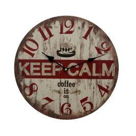 Nástěnné hodiny Keep Calm