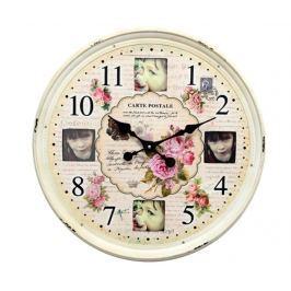 Nástěnné hodiny se 4 fotorámečky Precious Memories
