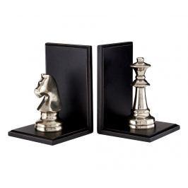 Sada 2 zarážek na knihy Chess