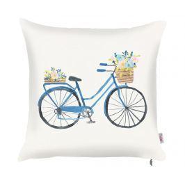Povlak na polštář Bike with Flowers 43x43 cm