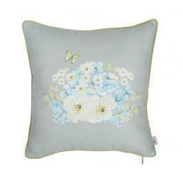 Povlak na polštář Flowers & Butterfly 43x43 cm