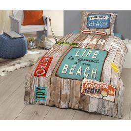 Ložní sada Single Ranforce Beach