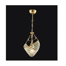 Závěsná lampa Miranda Golden
