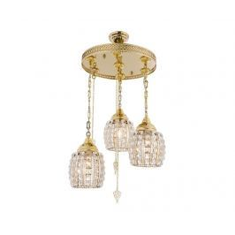 Závěsná lampa Dima Three Gold