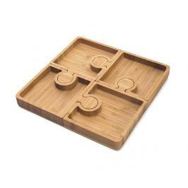 Sada 4 podnosů na předkrm Karo Puzzle