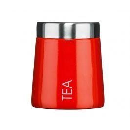 Dóza s víkem na čaj Madison Red