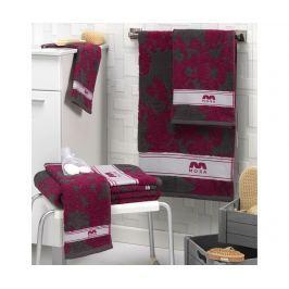 Sada 2 ručníků Nerwe Purple 30x50 cm