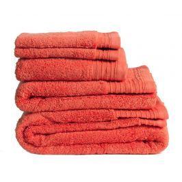 Sada 2 ručníků Lisa Coral 30x50 cm