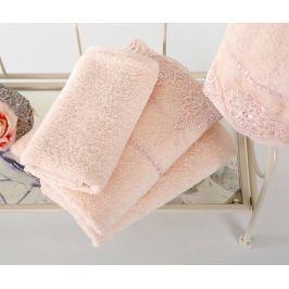 Sada 4 ručníků Matilda Lace Powder